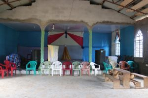 The Water Project:  Inside Church