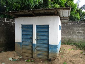 The Water Project:  Latrine For School Staff