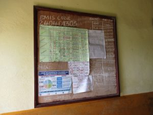 The Water Project:  School Notice Board