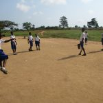 The Water Project: Lungi, Madina, St. Mary's Junior Secondary School -  Students Playing