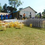 The Water Project: Shichinji Primary School -  Busy Preparing Materials