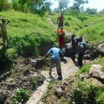 The Water Project: Sambaka Community, Sambaka Spring -  Excavation Begins
