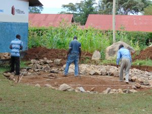 The Water Project:  Measuring The Rain Tank Foundation
