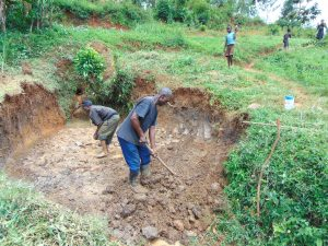 The Water Project:  Excavation Begins
