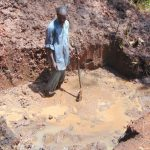 The Water Project: Masuveni Community, Masuveni Spring -  Excavation Underway