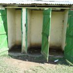 The Water Project: Eshimuli Primary School -  Looking Inside The Girls Latrines