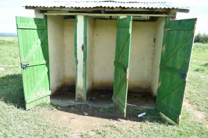 The Water Project:  Looking Inside The Girls Latrines