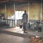 The Water Project: Makunga Secondary School -  School Cooks At Work Inside The Kitchen