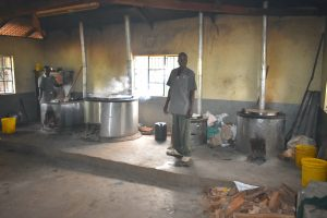 The Water Project:  School Cooks At Work Inside The Kitchen