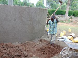 The Water Project:  Digging Access Area And Soak Pit