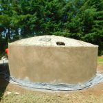 The Water Project: Kapkures Primary School -  Dome Construction Underway