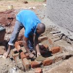 The Water Project: Kakamega Muslim Primary School -  Building The Tap Access Area