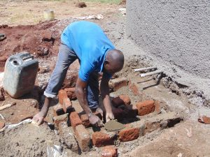 The Water Project:  Building The Tap Access Area