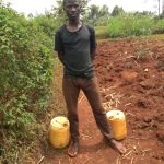 The Water Project: Shikhombero Community, Atondola Spring -  Mr Cavilah