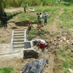 The Water Project: Sambaka Community, Sambaka Spring -  Spring Taking Shape