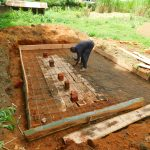 The Water Project: Kapkures Primary School -  Latrine Foundation Construction
