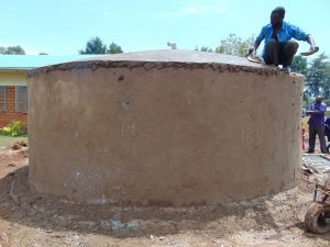 The Water Project:  Plastering Dome