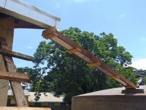 The Water Project:  Guttering In Place