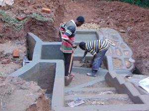 The Water Project:  Finishing The Stairs