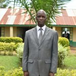 The Water Project: Makunga Secondary School -  Principal Mr Mudeheri