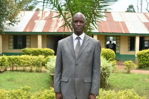 The Water Project:  Principal Mr Mudeheri