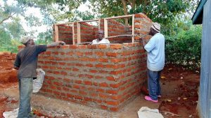 The Water Project:  Framing The Latrines