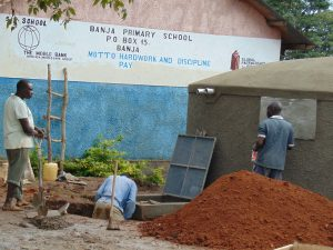 The Water Project:  Access Area And Soak Pit Work