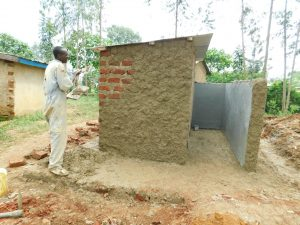 The Water Project:  Cementing And Plastering Latrines