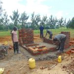 The Water Project: Nanganda Primary School -  Latrine Construction