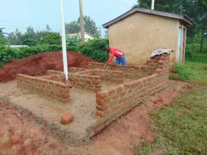 The Water Project:  Latrines Taking Shape