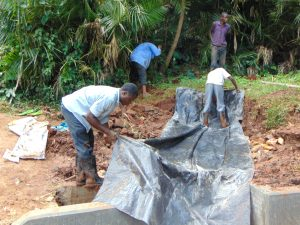 The Water Project:  Adding The Tarp Layer
