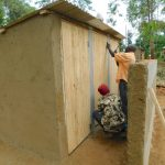 The Water Project: Shichinji Primary School -  Latrines Receive Their Doors