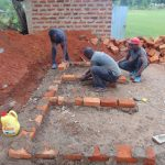 The Water Project: Demesi Primary School -  Latrine Foundation Underway