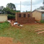 The Water Project: Kakamega Muslim Primary School -  Framing The Latrines