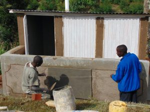 The Water Project:  Confirming Latrine Measurements