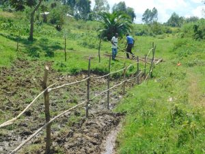 The Water Project:  Fencing Continues