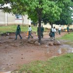 The Water Project: Makunga Secondary School -  Students Carrying Water