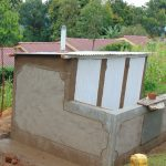 The Water Project: Banja Primary School -  Nearly Complete Latrine
