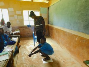 The Water Project:  Latrine Hygiene Session