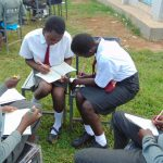The Water Project: Ebulonga Mixed Secondary School -  Group Work During Training