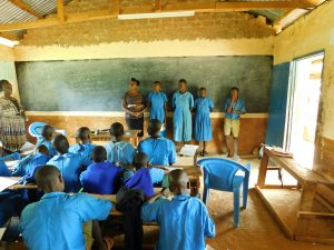 The Water Project:  Students Help Lead An Activity