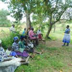 The Water Project: Sambaka Community, Sambaka Spring -  Training Begins With Facilitator Betty Majani