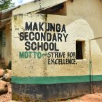 The Water Project: Makunga Secondary School -  Strive For Excellence