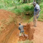 The Water Project: Emulembo Community, Gideon Spring -  Spring Excavation