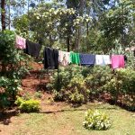 The Water Project: Shikhombero Community, Atondola Spring -  Clothes Drying