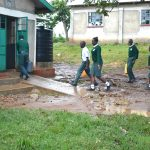 The Water Project: Makunga Secondary School -  Students Deliver Water To The Kitchen