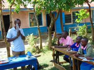 The Water Project:  Facilitator Talks Solar Disinfection