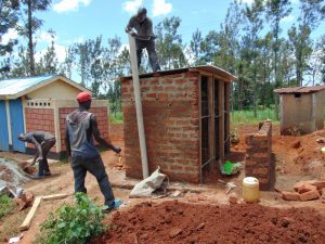 The Water Project:  Fitting The Ventilation Pipe