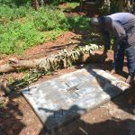 The Water Project: Emulembo Community, Gideon Spring -  Sanitation Platform