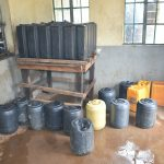 The Water Project: Makunga Secondary School -  Water Storage Containers